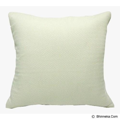 NM DECOR Sarung Bantal Sofa [NMD20SB-16777] Creamy - Sarung Bantal
